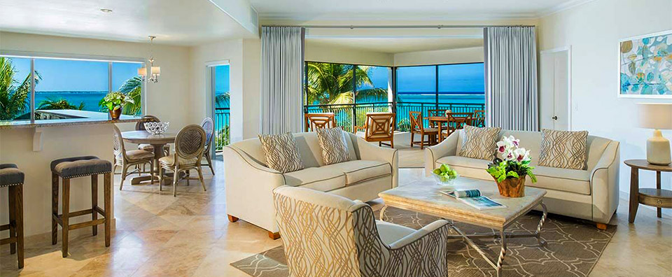 The Sands At Grace Bay, Turks & Caicos - Suite Living Room