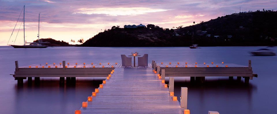 Carlisle Bay, Antigua - Jetty Dining