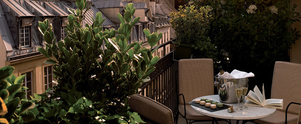 Esprit Saint Germain, Paris, France - Private Terrace