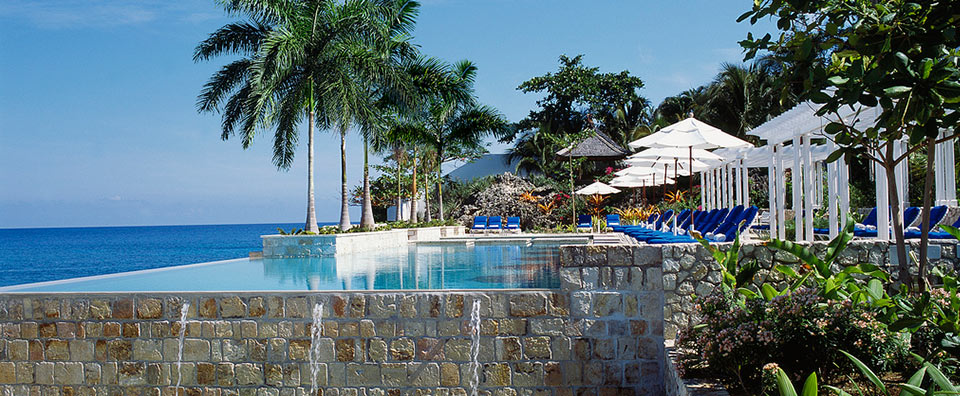 Round Hill Hotel & Villas, Jamaica - Infinity Pool